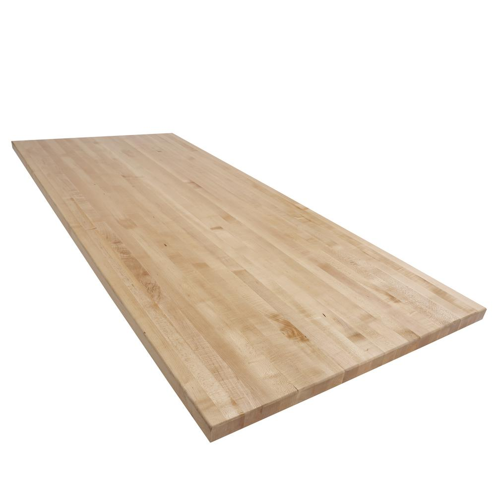 Swaner Hardwood 7 Ft L X 3 Ft D X 1 75 In T Butcher Block