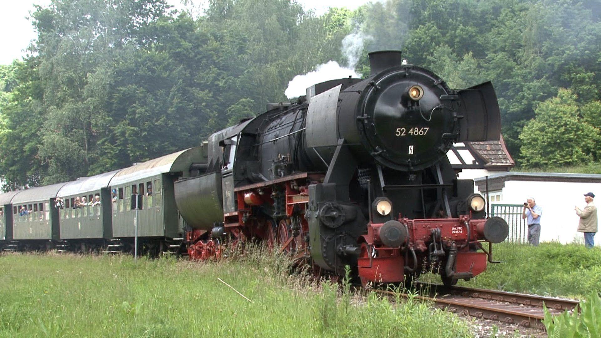 Lokportrait Dampflok 52 4867