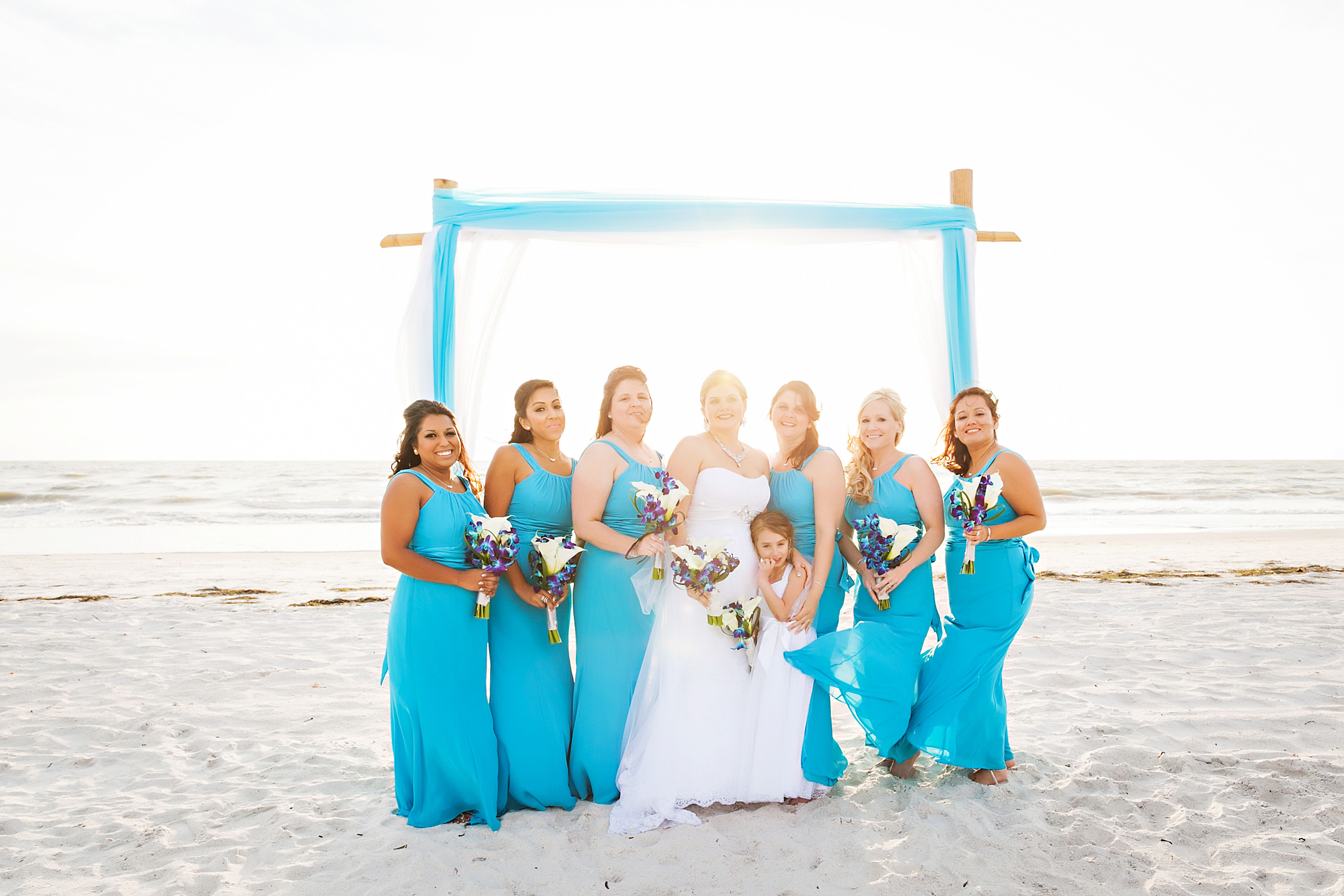 David S Bridal Malibu Blue Bridesmaid Dresses Wedding In