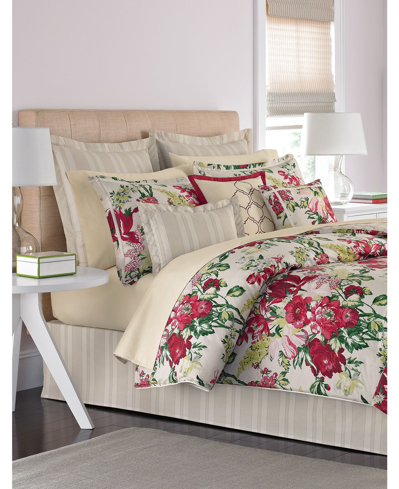 Martha Stewart Collection Lush Blossom Comforter Home