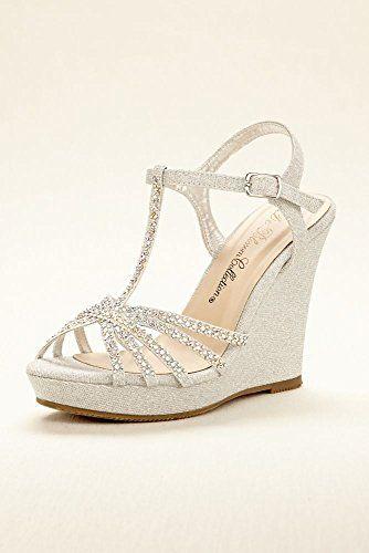 High Heel T-Strap Wedge Sandal Style ALINA11
