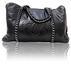 Big black Chanel Purse