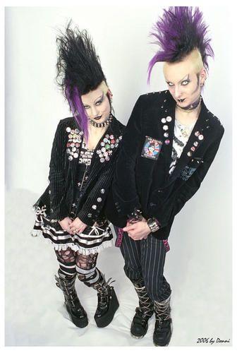 Goth Subgenres : subgenres, Deathrock, Images, Fashion,, Fashion, Punk,