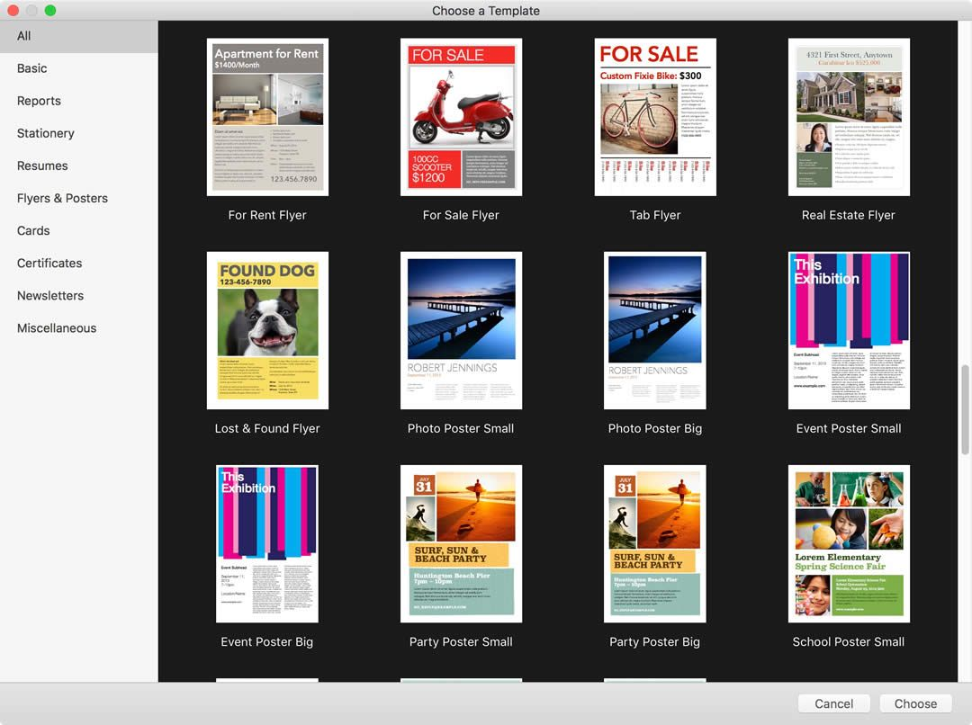 A Few Words On Mac Pages And Templates Tera Talks Within Mac Brochure Tem Free Business Card Templates Vertical Business Card Template Business Card Template