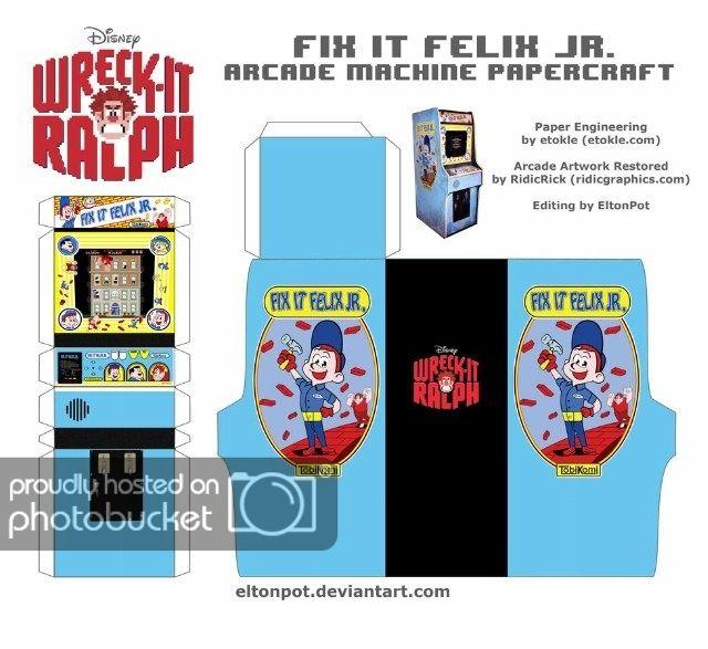 Fix Felix It Arcade Jr Machine