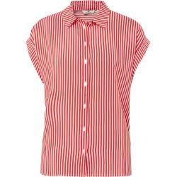 Tom Tailor Damen Gestreifte Bluse, rot, gestreift, Gr.38 Tom TailorTom Tailor