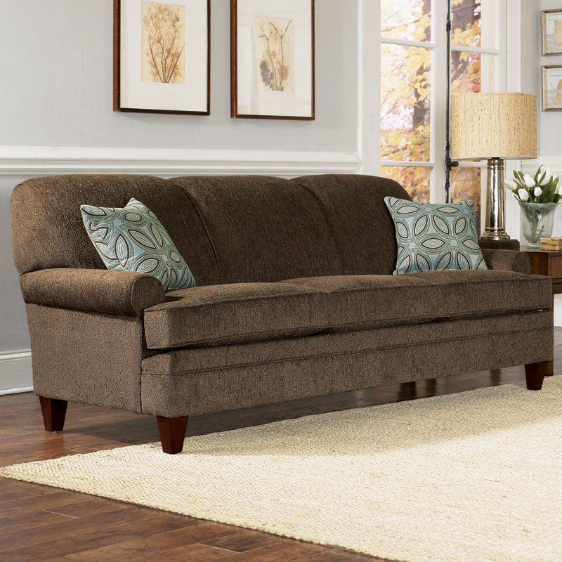 Another Dk Brown Couch With Light Gray