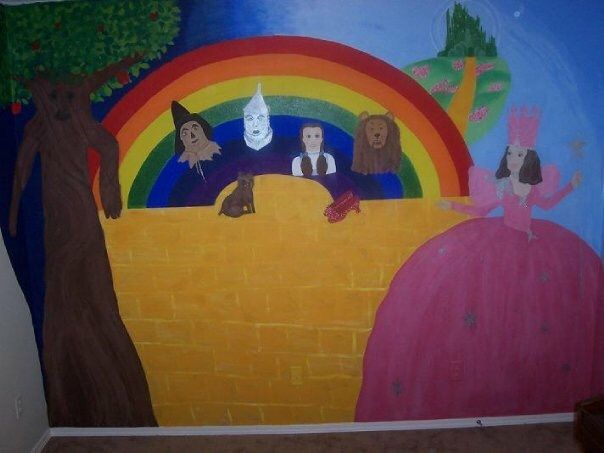 Wizard Of Oz Mural Part 66