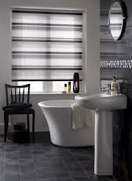 Image Result For Contemporary Bathroom Blinds Bathroom Blinds Roller Blinds Bathroom Kitchen Curtain Designs