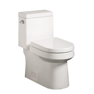Danze Ziga Zaga High Efficiency 1.28 GPF Elongated 1 Piece Toilet