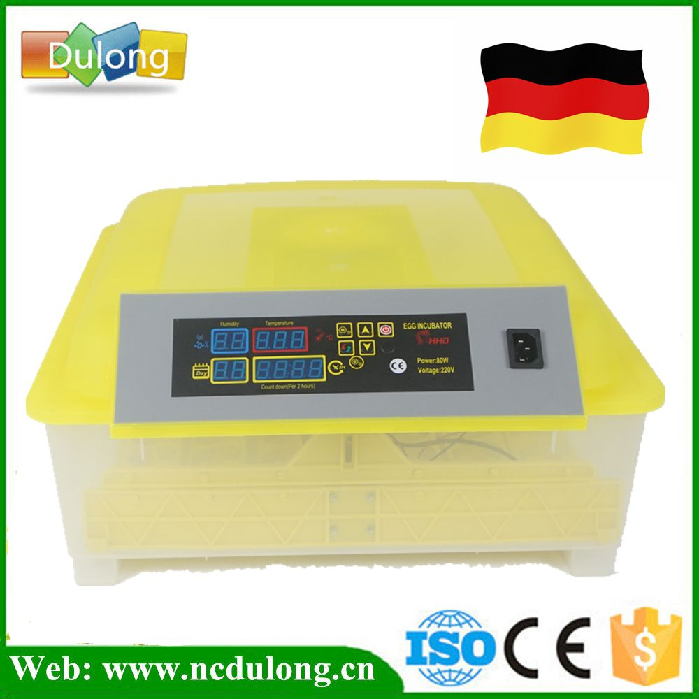 Full Automatic Mini 48 Eggs Incubator Machine Home Use Poultry Chicken Brooder Hatching Machine Chicken Brooder Egg Incubator Brooder