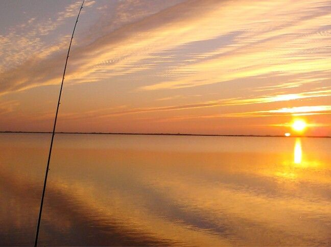 Sunrise on the Estes flats...Rokport,Tx