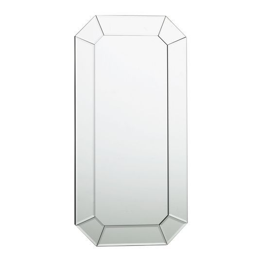 Bevelled Edge Oblong Mirror, , large