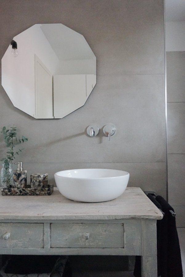Vintage Bad Runde Badezimmerspiegel Waschtisch Vintage Und