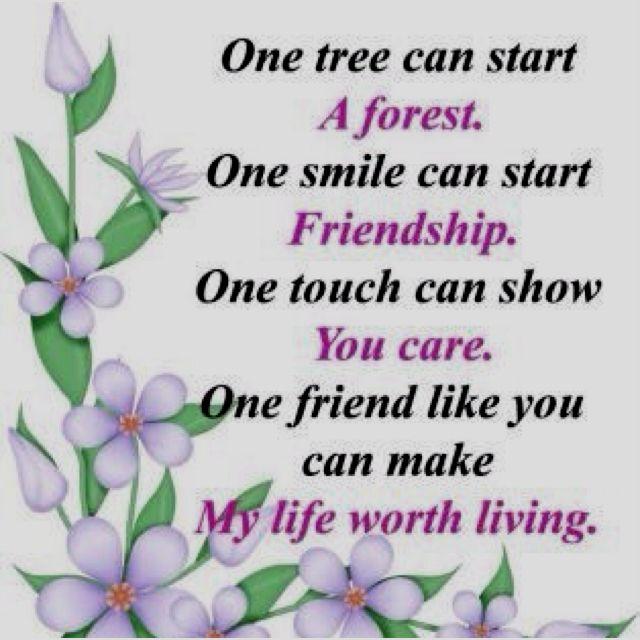 Friends are like diamond.