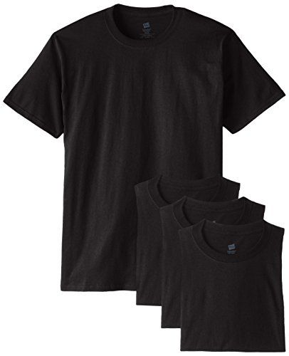 Hanes Mens Pullover Ecosmart Fleece Hoodie Black 4X-Large