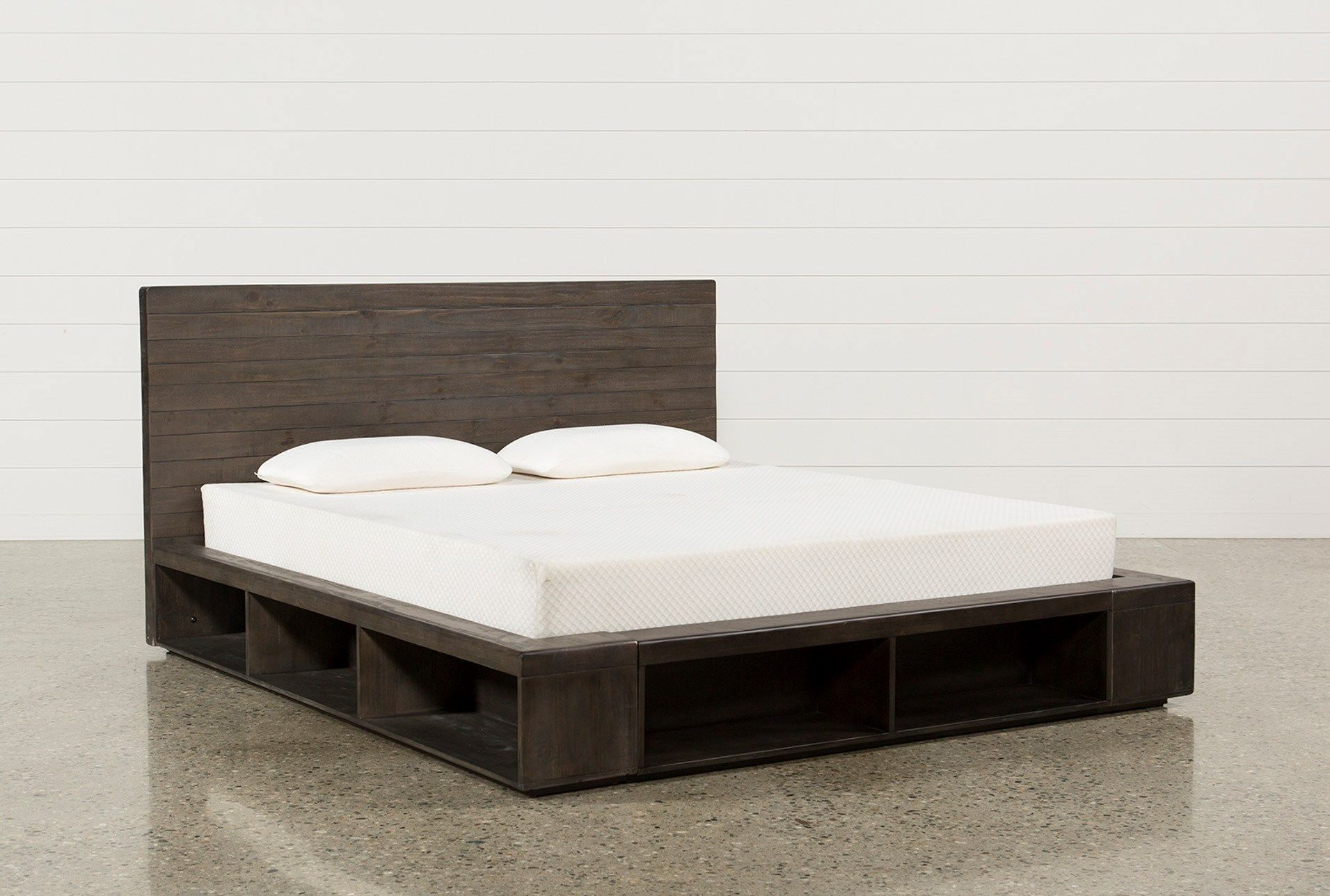 Best California King Platform Bed Dylan Grey 995 In 2019 400 x 300
