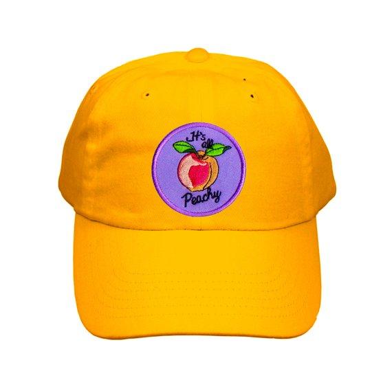 Cute Embroidered Peachy Hat e62f7ba584b