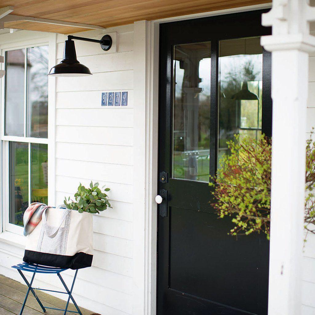 Factory Light 4 Outdoor Sconce Modern farmhouse exterior
