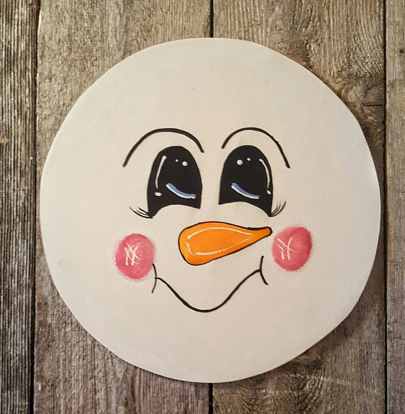 This Item Is Unavailable Tidepodscontainercrafts Snowman Faces Wooden Snowman Snowman Painting