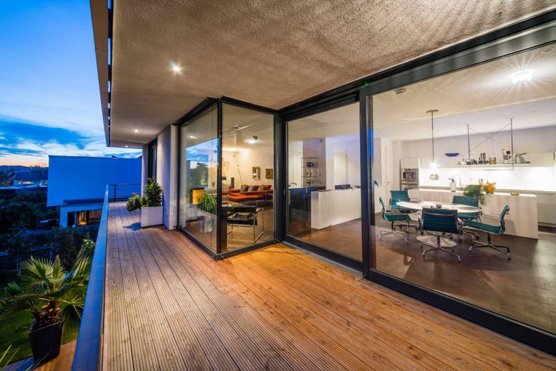 Dachterrasse moderner balkon veranda terrasse von helwig haus und raum planungs gmbh