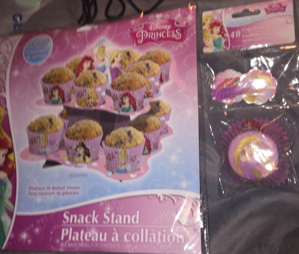 Disney Princess Cupcake Combo Pack