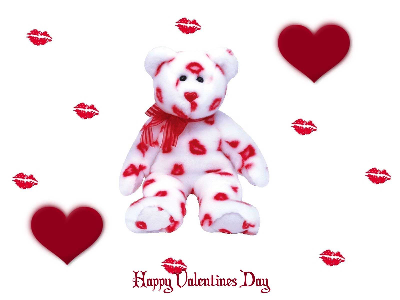 A lot of kisses on valentines day inspirequotesneta – Teddy Bear Valentines Day Card
