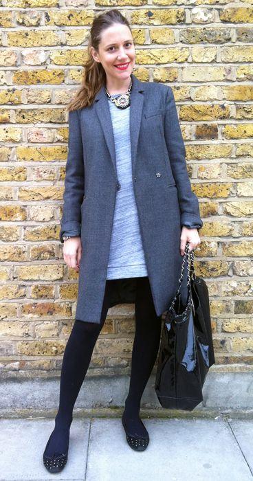 Wearing It Today: Grey www.wearingittoday.co.uk