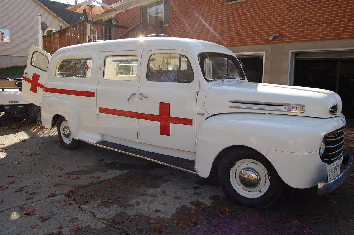 1950 Ford V8 Siebert Ambulance