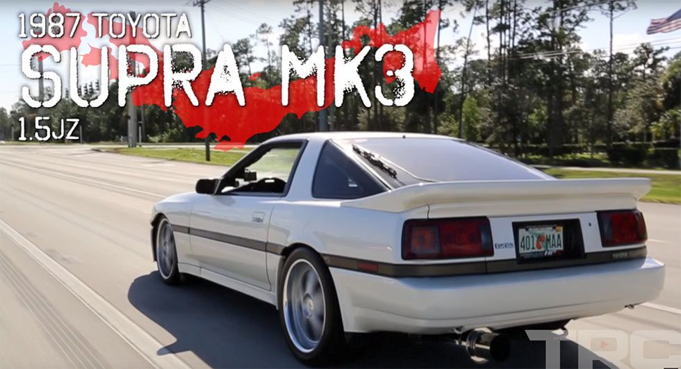 There Are 1 600 Reasons Why This 1987 Toyota Supra Is Called The Great White Carscoops Toyota Supra Mk3 Toyota Supra Supra