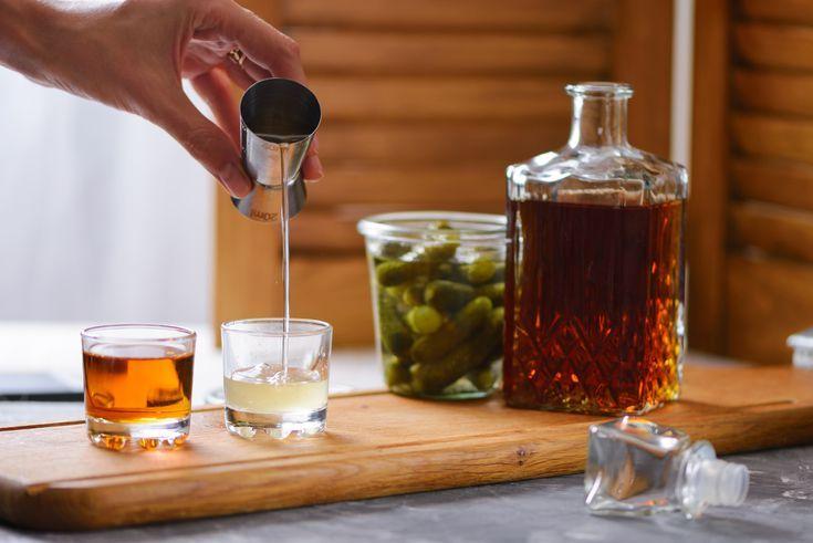 How to make a pickleback shot recipe pickle juice