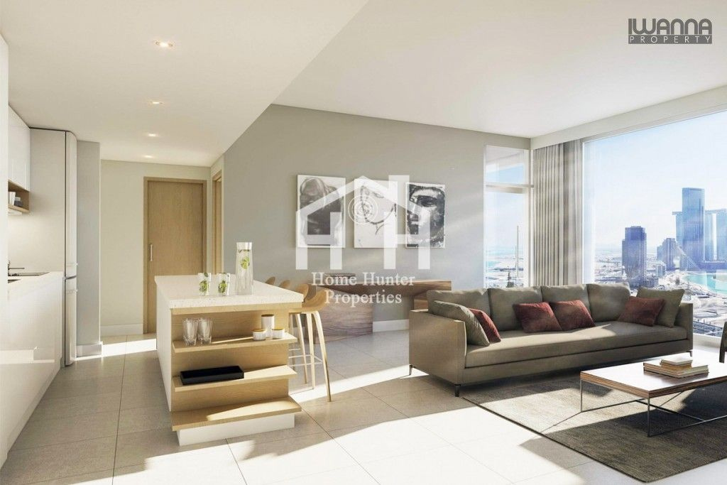 Beautiful Three Bedroom Apartment In Shams Abu Dhabi For Sale 1 622 464 Aed Home Hunter Properties Iwannaproper Bedroom Apartment Home 3 Bedroom Apartment