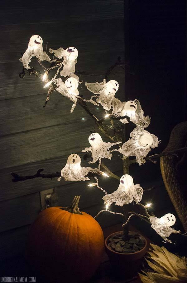 19 Easy DIY Halloween Outdoor Decoration Ideas Pinterest DIY - homemade halloween outdoor decorations