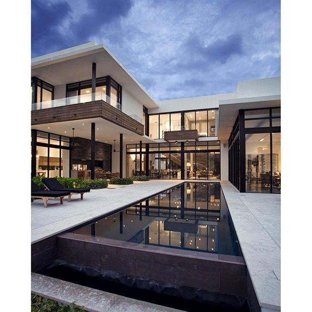South Island Residence, in Golden Beach, Florida, by KZ Architecture ...