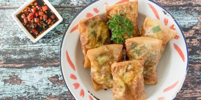 Pin Oleh Tatik Kurniawati Di Resep Martabak Tahu Makanan Resep Camilan
