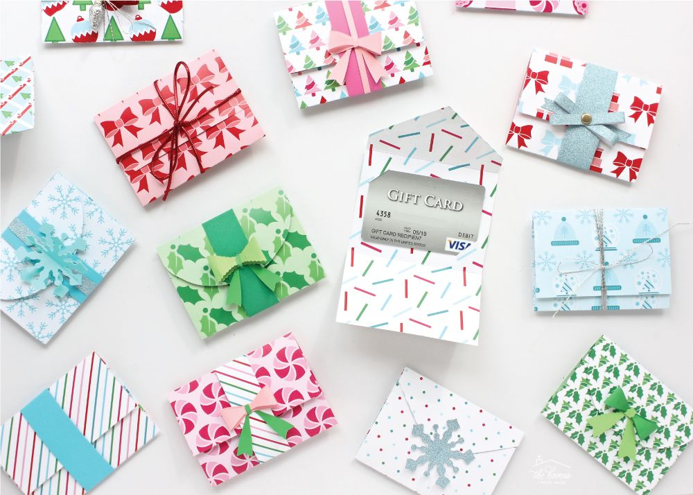 DIY Gift Card Holders (with Printable Template!) Gift