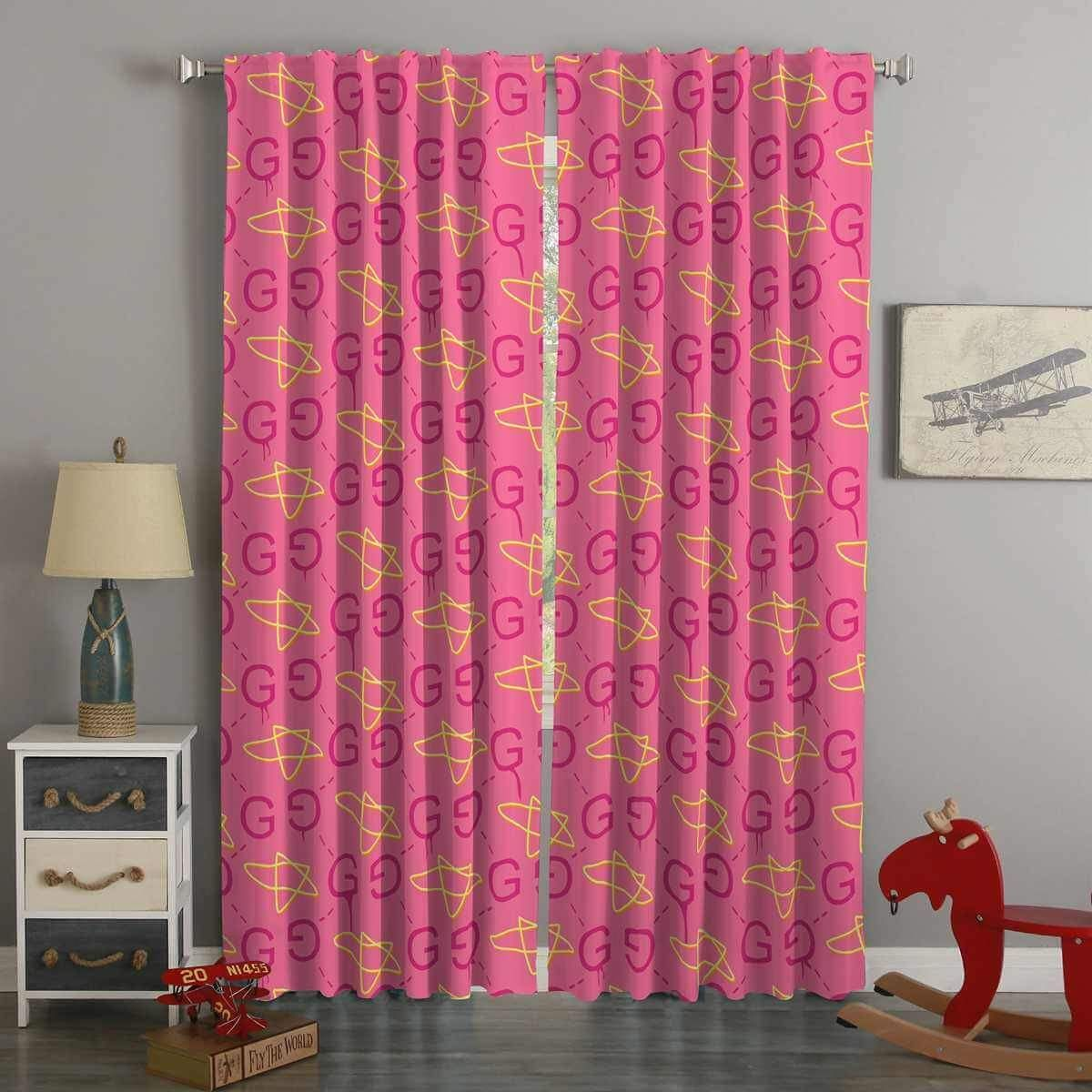 3d Printed Gucci Style Custom Living Room Curtains Curtains Living Room Curtains Custom Curtains #pictures #of #curtains #for #living #room