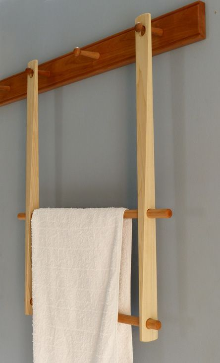Towel rack / Zealand - Shakermöbel | Shaker style ...