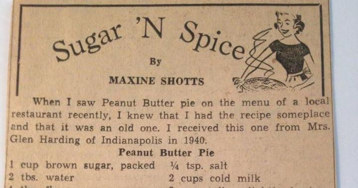 Another of the recipe clippings from mom's shoebox! This is from our local hometown newspaper when I was growing up in Indiana.     Click o...