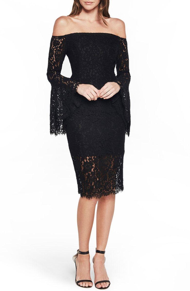 c811f84c Solange Corded Lace Sheath Dress, Main, color, Black | 2018 CORE ...