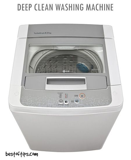 How To Deep Clean Washing Machine Using Baking Soda