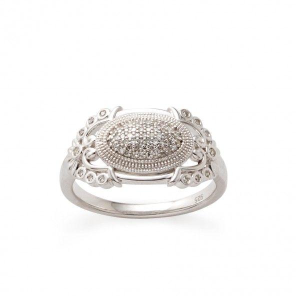 Diamond Flurry Ring