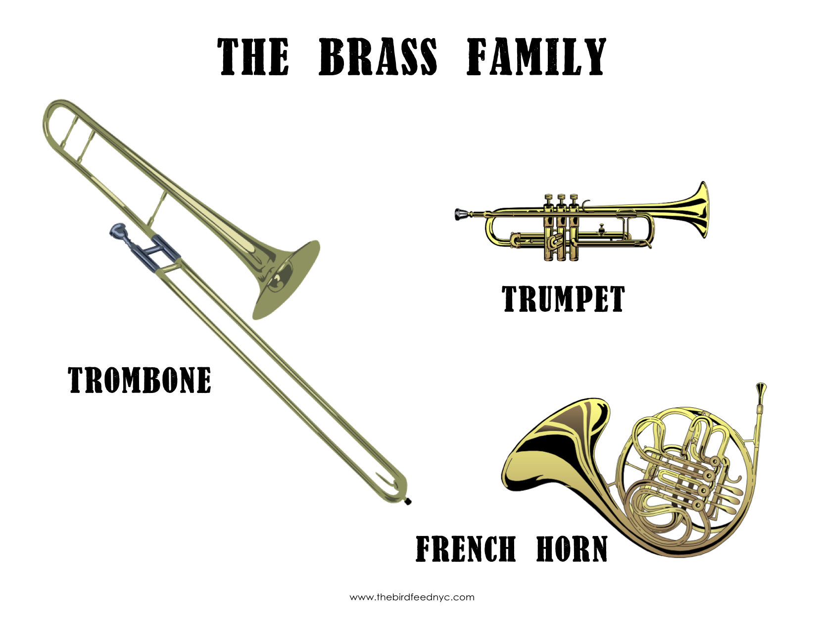 The Brass Family The Bird Feed