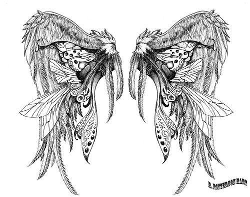 Epingle Par Jason Reittom Sur Tattoo Art Tatouage Ailes Design