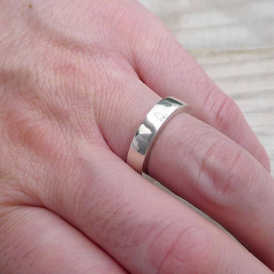 Mens Chunky Silver Ring | Chunky silver rings, Silver ring and Ring