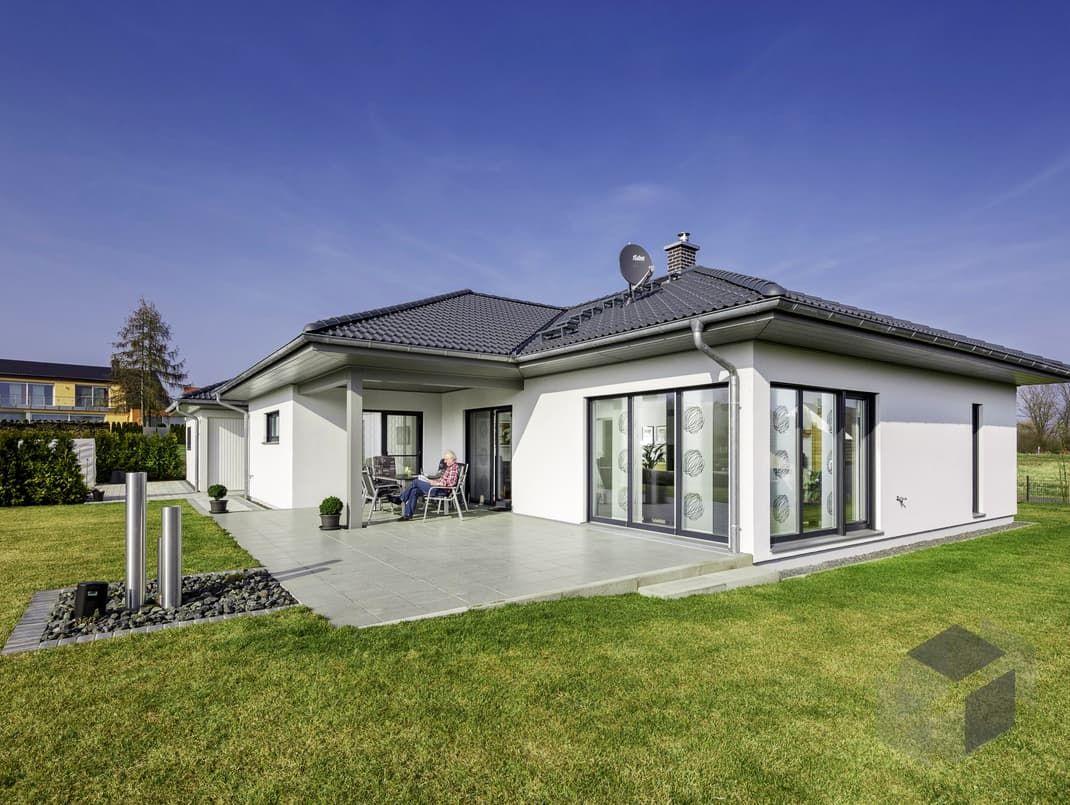 eben.124 von LUXHAUS mit 122,96 m² Wohnfläche verteilt auf 5 Zimmer ...
