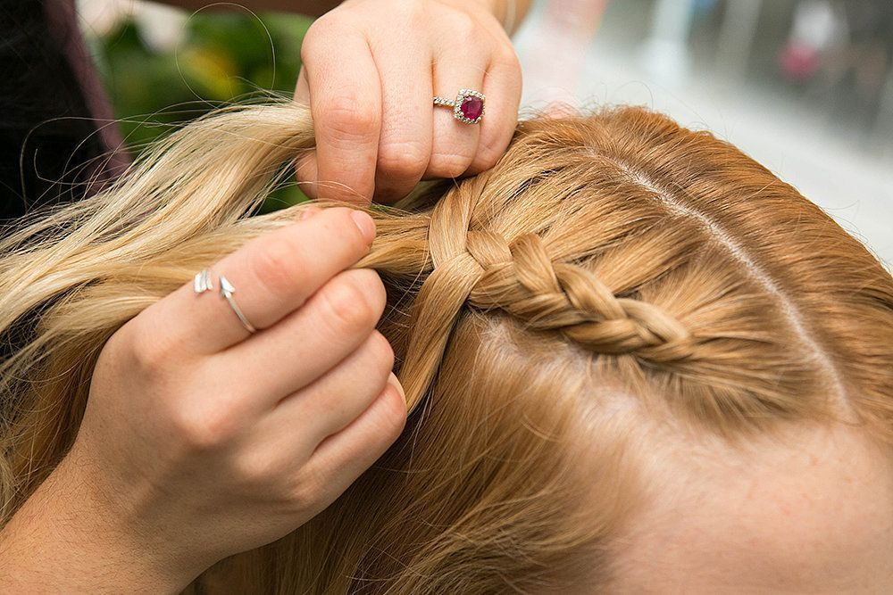 Keep Your Hands As Close To The Scalp As Possible To Keep The