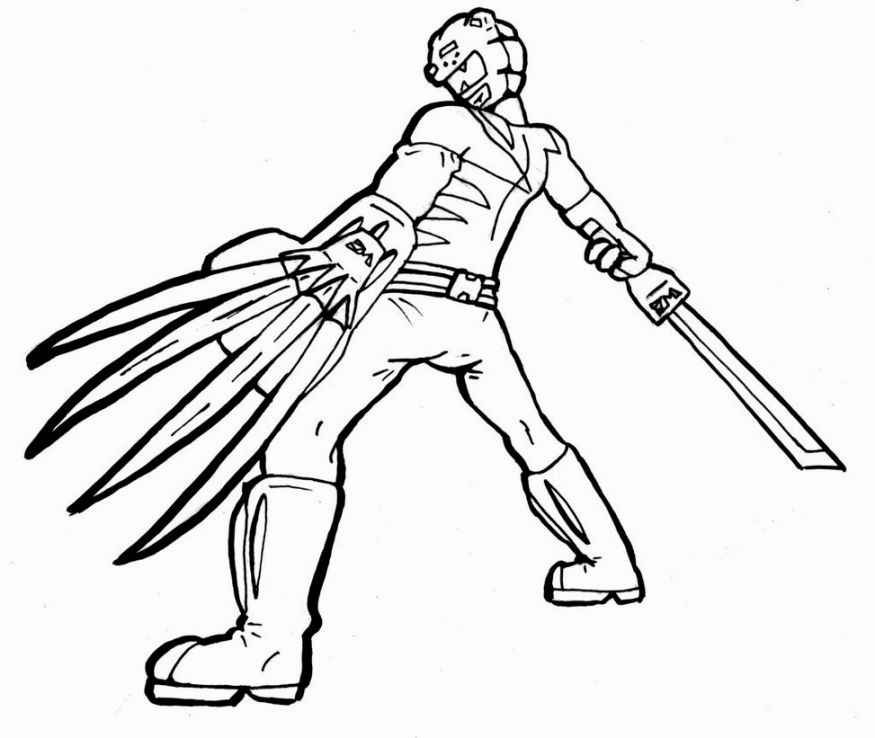 Power Rangers Jungle Fury Coloring Pages Power rangers