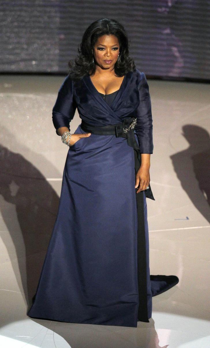 Опра Уинфри (Oprah Winfrey) | Вечерние платья, Модные стили, Стиль для пышных