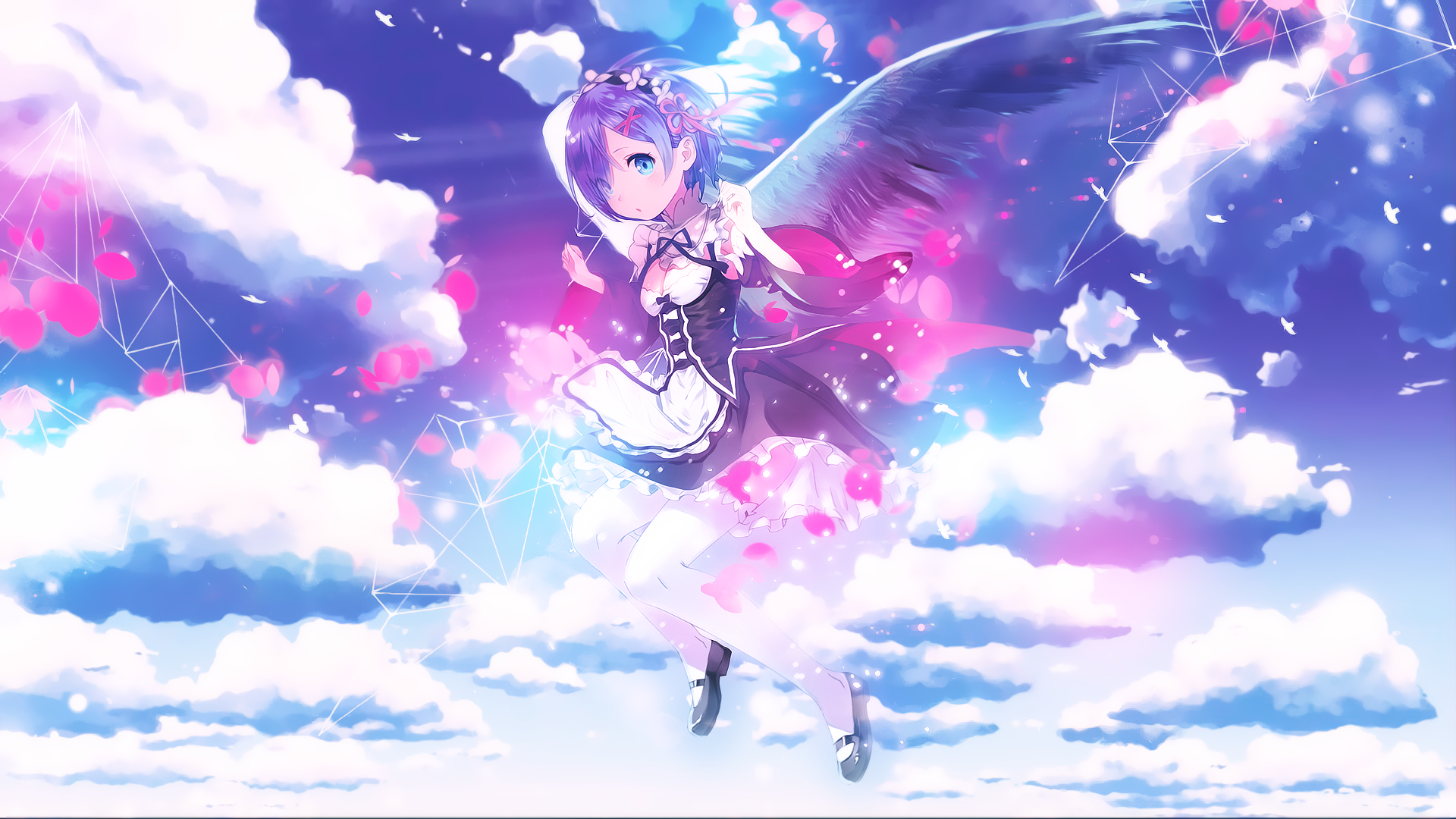 View Download Comment And Rate This 19x1080 Re Zero Starting Life In Another World Wallpaper Wallpaper Android Wallpaper Anime Anime Re Zero Wallpaper
